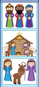 Our First Nativity TWO PowerPoint Samples