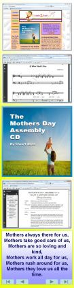 Mothers Day Assembly CD Contents