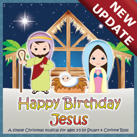 HAPPY BIRTHDAY JESUS - Short and Simple Preschool Nativity Play