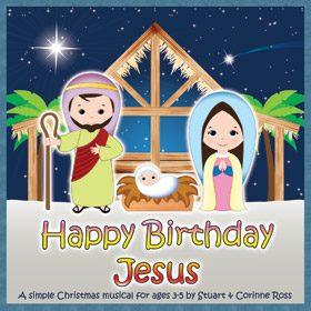 HAPPY BIRTHDAY JESUS - Short and Simple PreSchool Nativity Play