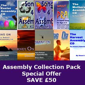 ULTIMATE ASSEMBLY PACK 10 CDs, 64 Songs and dozens of assemblies