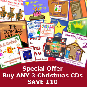 CHRISTMAS CDs SPECIAL OFFER - Buy 3 Christmas CDs and SAVE Up to £18