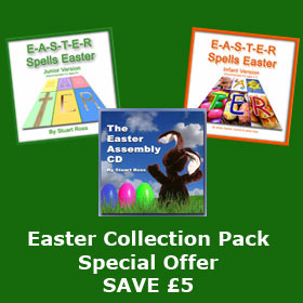 EASTER COLLECTION SPECIAL OFFER - Easter songs, scripts, plays & more