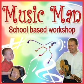 MUSIC MAN - Childrens Singing and Music Workshop for Ages 2-11