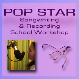 POP STAR - Songwriting and Recording School Music Workshop